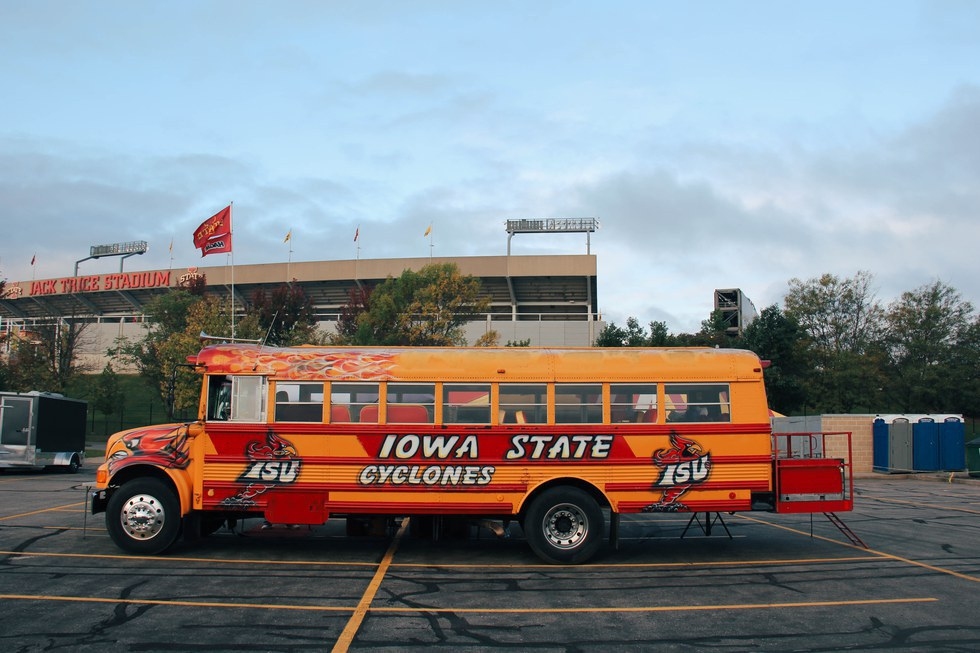Their tents are complete with plasma screen TVu0027s catered meals and full size Clemson tapestries. Iowa State University ... & North vs South: College Game Day