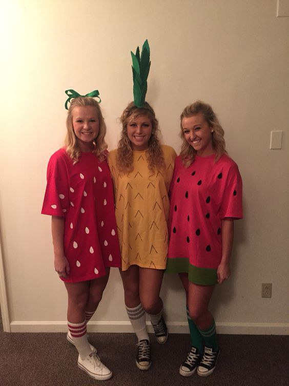 3 Fruits Yet Another Cute And Simple Costume