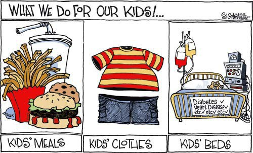 Are Fast Food Restaurants Responsible For Childhood Obesity