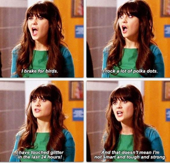 New Girl Quotes 11 New Girl Quotes That Sum Up Your 20's New Girl Quotes