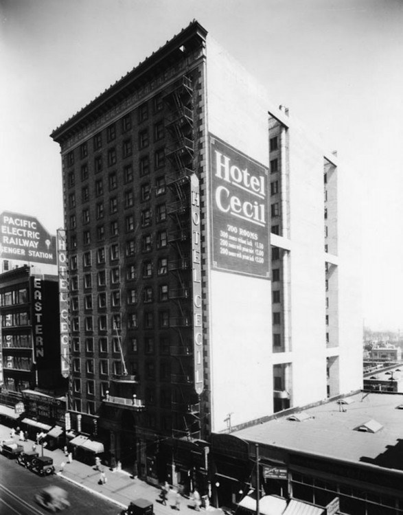 Image result for Hotel Cecil 1924