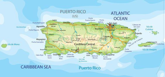 you can try but it is very likely that you will drown considering the fact that puerto rico is an island in the middle of the ocean