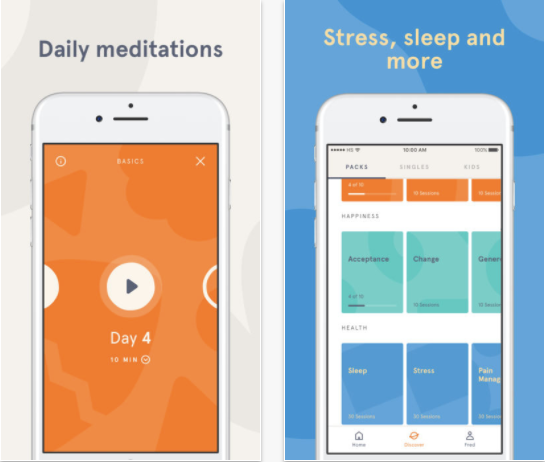 best guided meditation app android