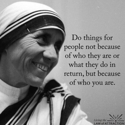 7 Mother Teresa Quotes To Get You Through Life