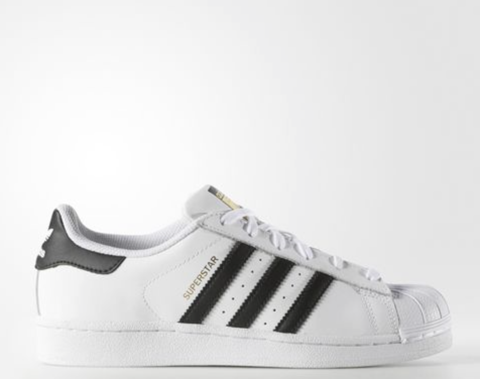 554bf8047d ... can back me up that just about every girl has a pair of the basic white  Adidas