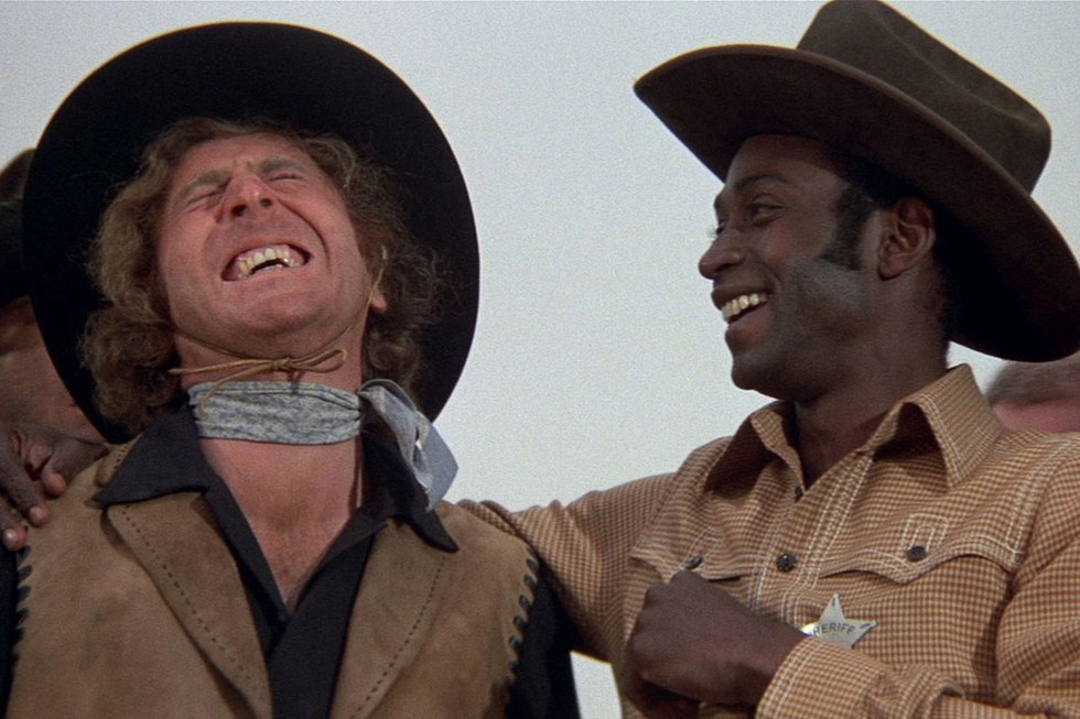"racism in the eye of society in blazing saddles a film by mel brooks The nashville branch of the american society for film plans a ""retroactive picket"" of the mel brooks movie blazing saddles far from being racist."