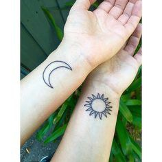 10 Matching Tattoo Ideas For You And Your Bestie