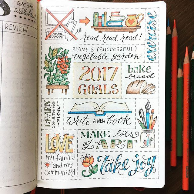 start off 2018 on a creative and colorful note and maybe youll actually use it for the entire year