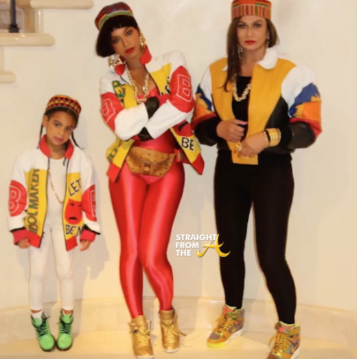 We can expect nothing less than greatness from Queen B and the Knowles-Carter family and this year was no disappointment! Giving us straight 80u0027s vibes ...  sc 1 st  Odyssey & Top 4 Celebrity Halloween Costumes!