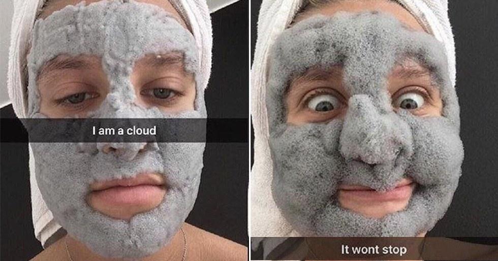 17 face masks