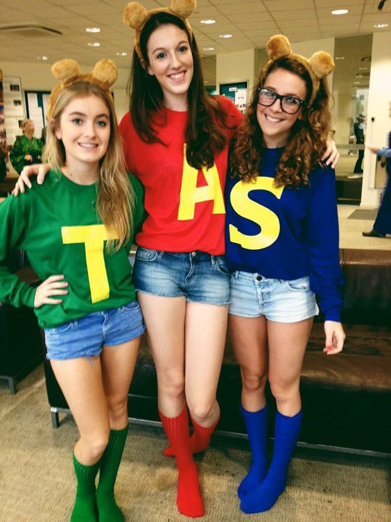 Then choose your favorite chipmunk and get ready to rock out! A sweatshirt and fuzzy bear ears are all you need. This is also a great idea ...  sc 1 st  Odyssey & 10 Creative Costume Ideas for Your Posse