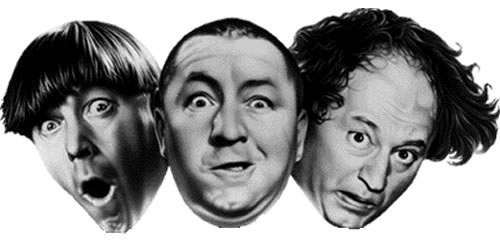 Image result for three stooges clipart