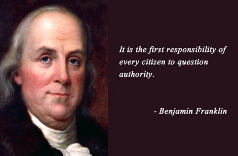 Benjamin Franklin A Serial Killer
