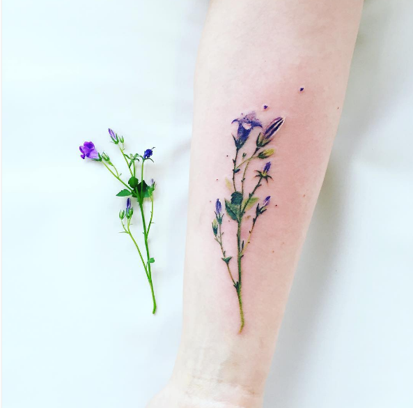 19 Amazing Floral Tattoos