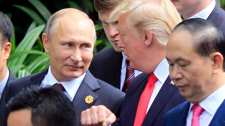 """Trump: Putin is """"very insulted"""" by accusations of election meddling"""