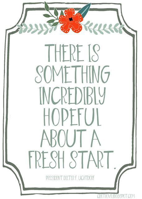 Here\'s To A Fresh Start In A New School Year