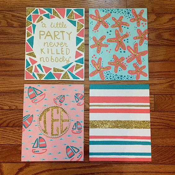 5 easy diy projects for your dorm room instead of paying way too much money for posters that plenty of other college students have hanging on their walls make your own get yourself a good solutioingenieria Gallery