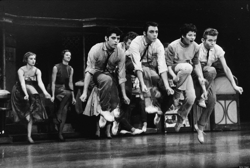 an analysis of prejudices in west side story by arthur laurents Unlike most editing & proofreading services, we edit for everything: grammar, spelling, punctuation, idea flow, sentence structure, & more get started now.