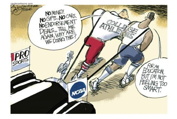 student athletes and academic corruption essay Why not a college degree in sports by  debate over whether student athletes should be paid  question in an op-ed essay in the.