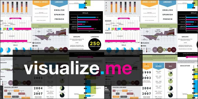 Applicants Add A Pop Of Color To Their Profile And Win Spot Interest With The Aid Websites Like Visualizeme ResumeUP If Resume Looks