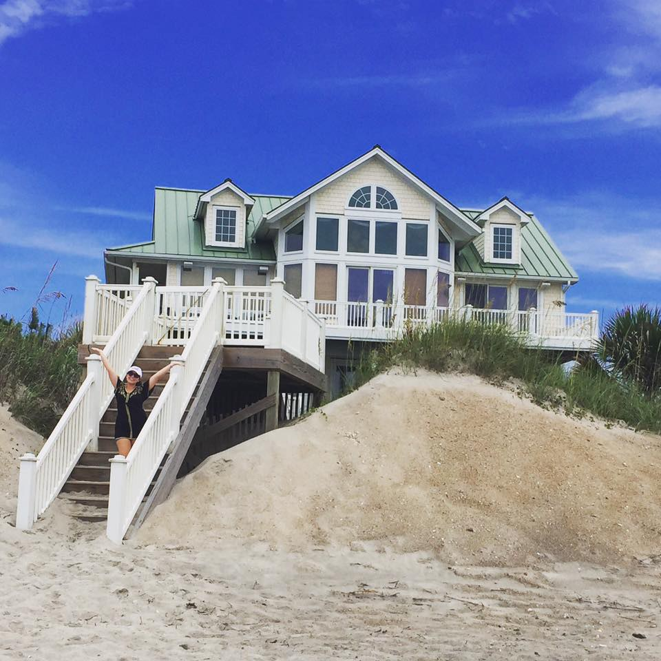 21 places in wilmington every one tree hill fan should visit there is a public beach access ramp beside this beach house so we were able to camp on the beach right in front this house is also for sale publicscrutiny Choice Image