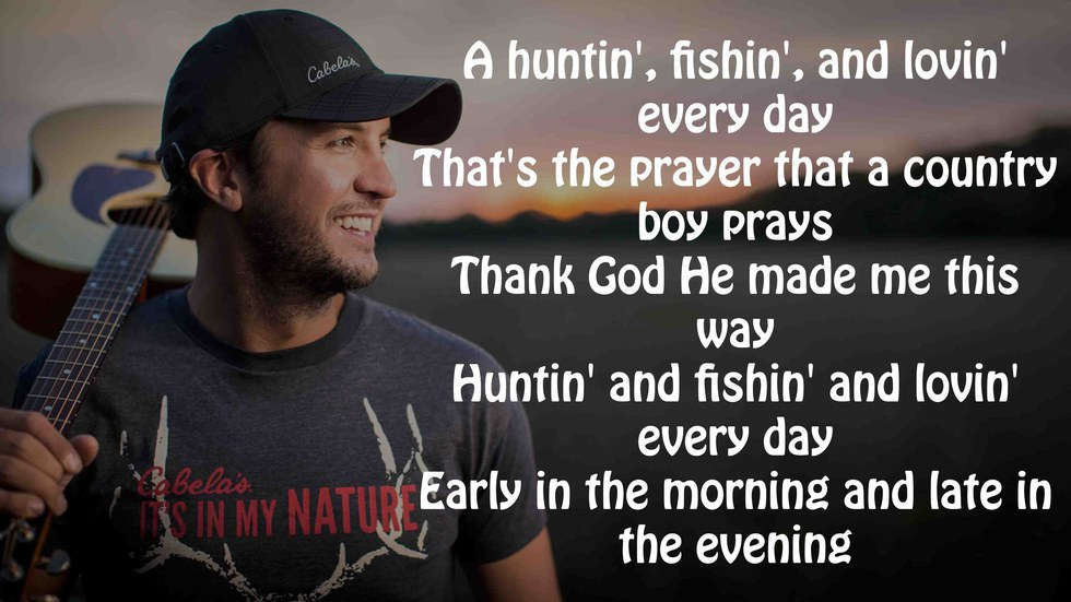 Lyric luke bryan song lyrics : 18 Country Songs To Add To Your Summer 2016 Playlist