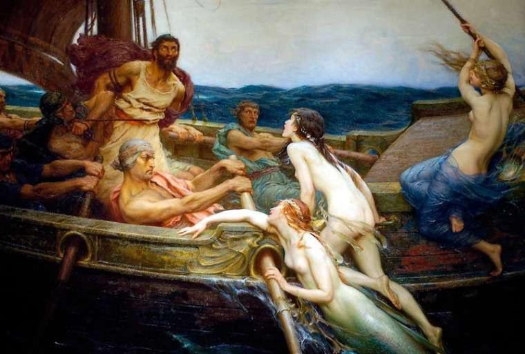 who are odysseus parents
