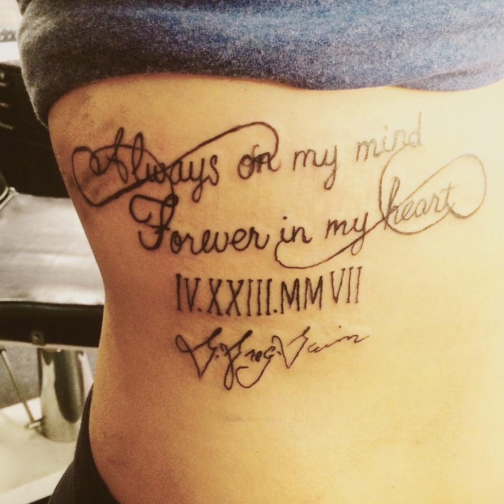 Having Tattoos Piercings Does Not Define You