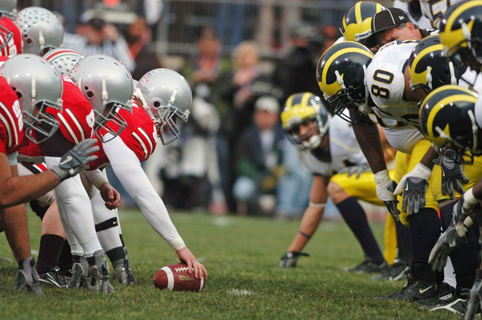 a report on the college football rivalry between ohio and michigan Michigan state-ohio state rivalry best in college football new, 34 comments cbs sports believes this rivalry is the best the game has to offer over the last 4 years.