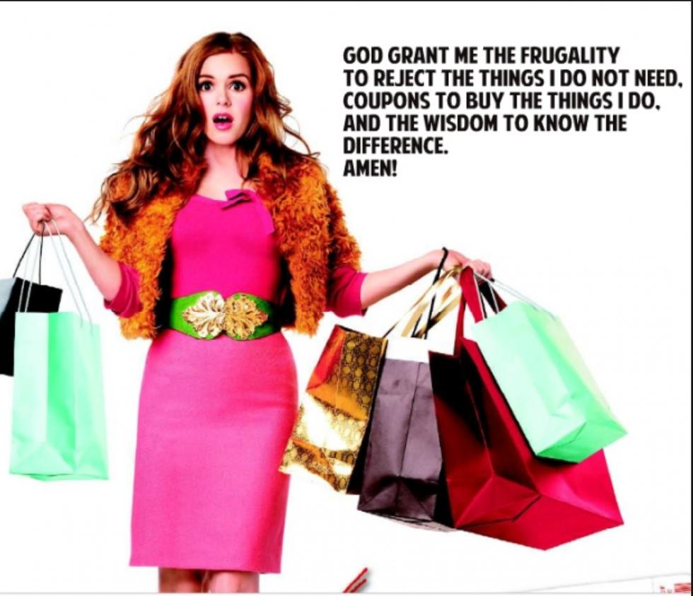 Shopaholic clothing store