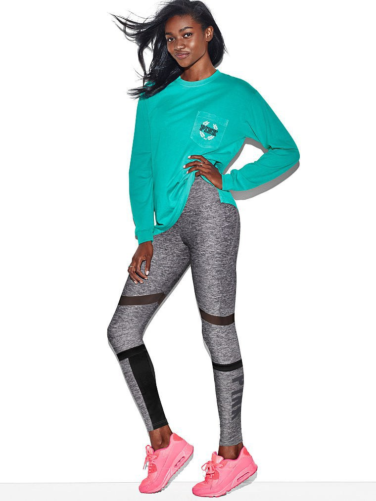 Please Observe This Victoria S Secret Model Looking Especially Hy To Be Wearing Leggings And A T Shirt Is Not How I Felt After These