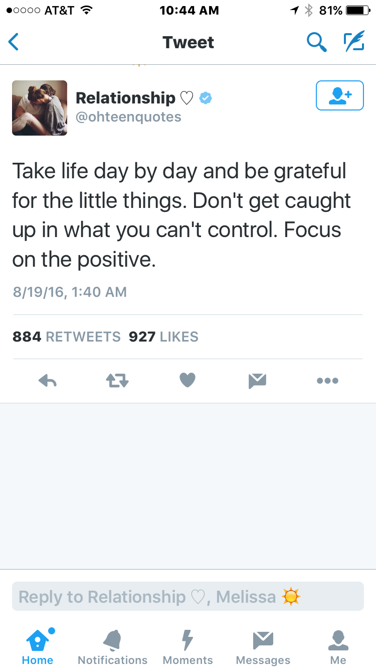 11 Pieces Of Life Advice From Social Media