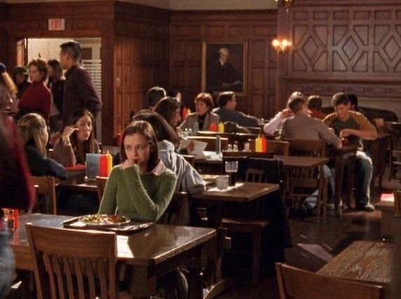 Ordinaire On The Subject Of The Dining Halls It Is Also Prudent To Mention Roryu0027s  Campus Job. During Her Time At Yale, Rory Worked As A Card Swiper In The Dining  Hall ...