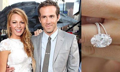 Rocking Her Engagement Wedding Ring