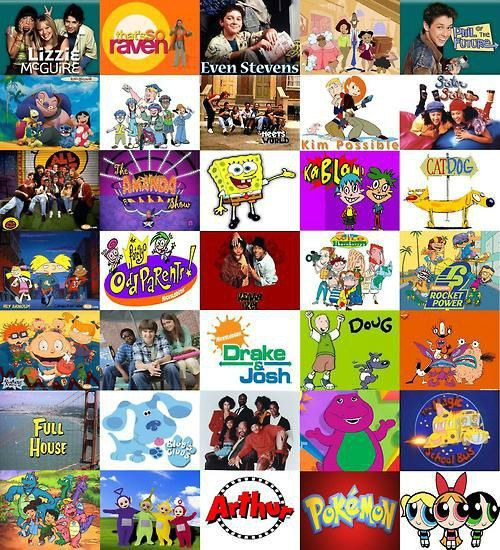 A List For The Early 2000s Babies