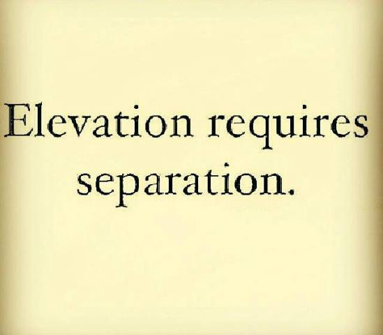 My Elevation Came From My Isolation - What is my elevation