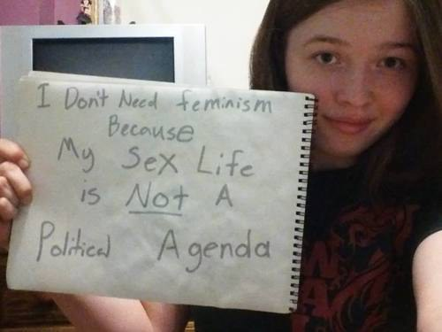 Women Against Feminism Youre Not Getting It
