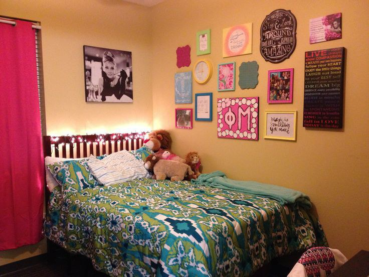 Do Bring Things To Decorate Your Walls. The Walls In College Dorm Rooms ...