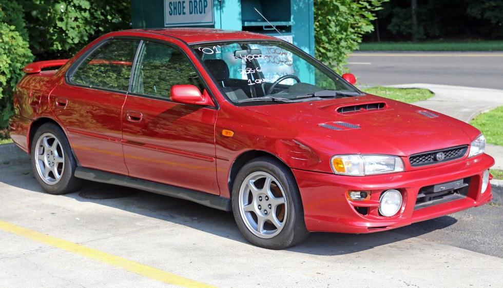 8. Subaru Impreza