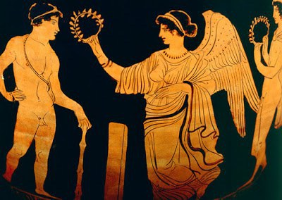 what did ancient olympic winners receive