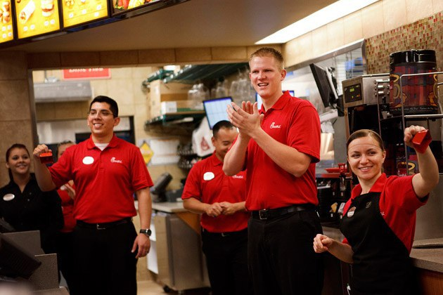 Image result for chick fil a employee