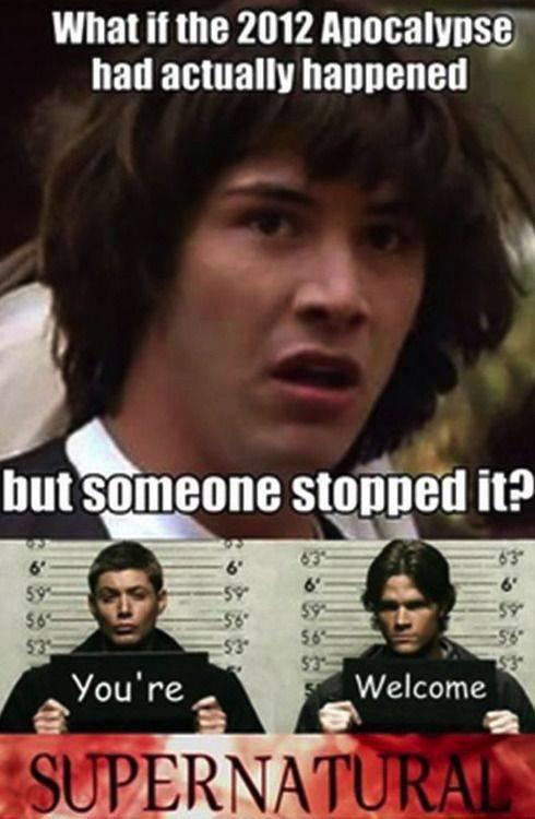 Dean Winchester Is Basically Regina George