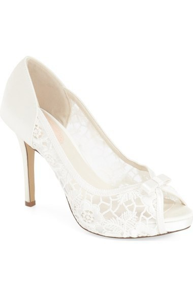 1 My Wedding Shoe Order Was Cancelled Because Those Cute P Toe Heels With The White Lace And Bows Are Permanently Out Of Stock