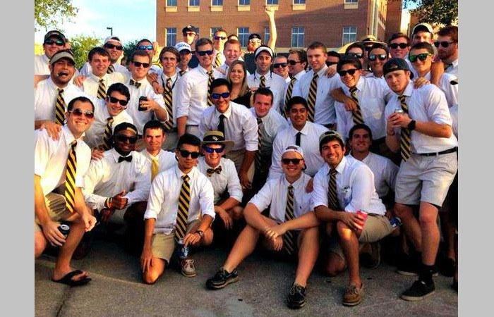 College frat boys