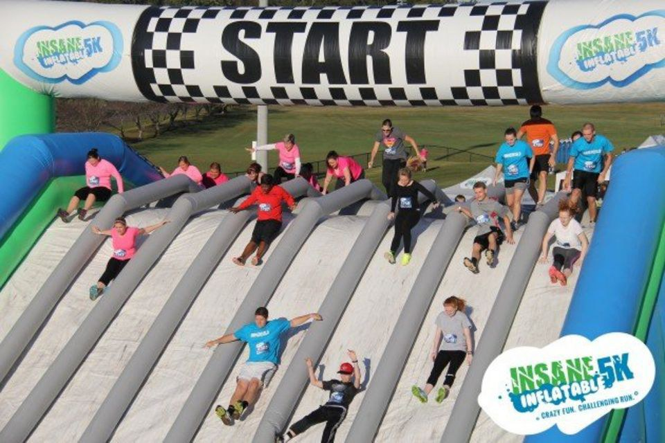 8 minnesota runs to do this summer for Insane inflatable 5k shirt