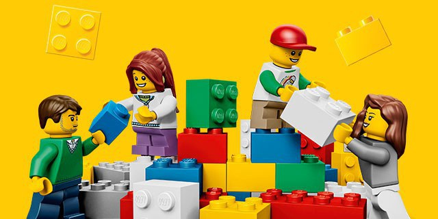 Reasons Lego Is More Than Just A Kids Toy - Clever print ads from lego show children building their own future