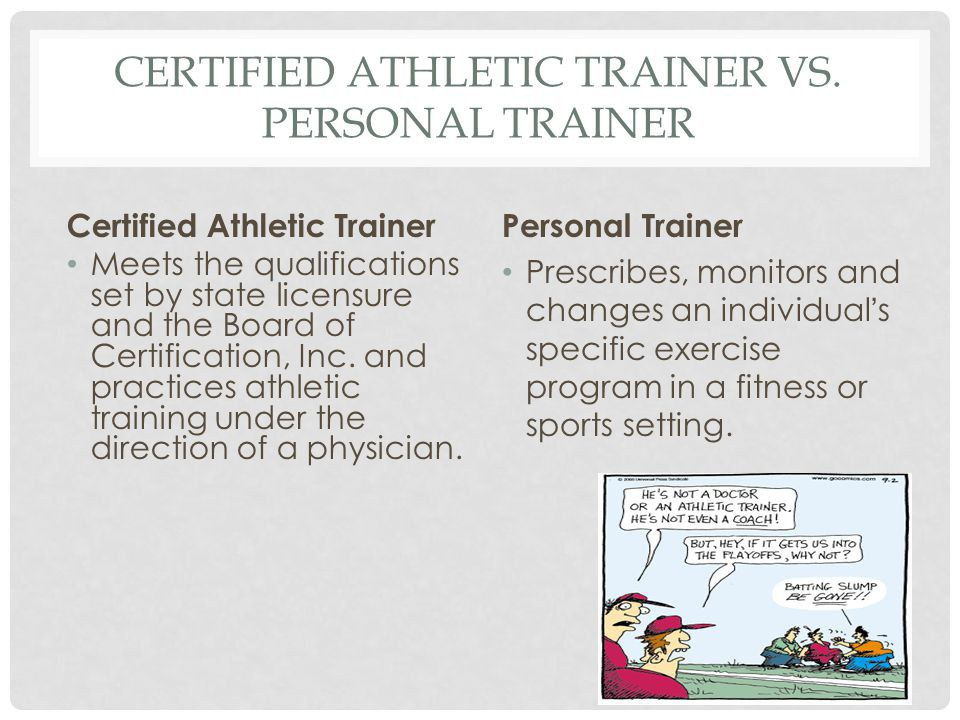 why i want to be a athletic trainer To become a boc-certified athletic trainer, you must earn a degree from a college or university with an accredited athletic training program and pass the exam administered by the omaha-based board of certification some states also require a second test above and beyond the nata requirements.