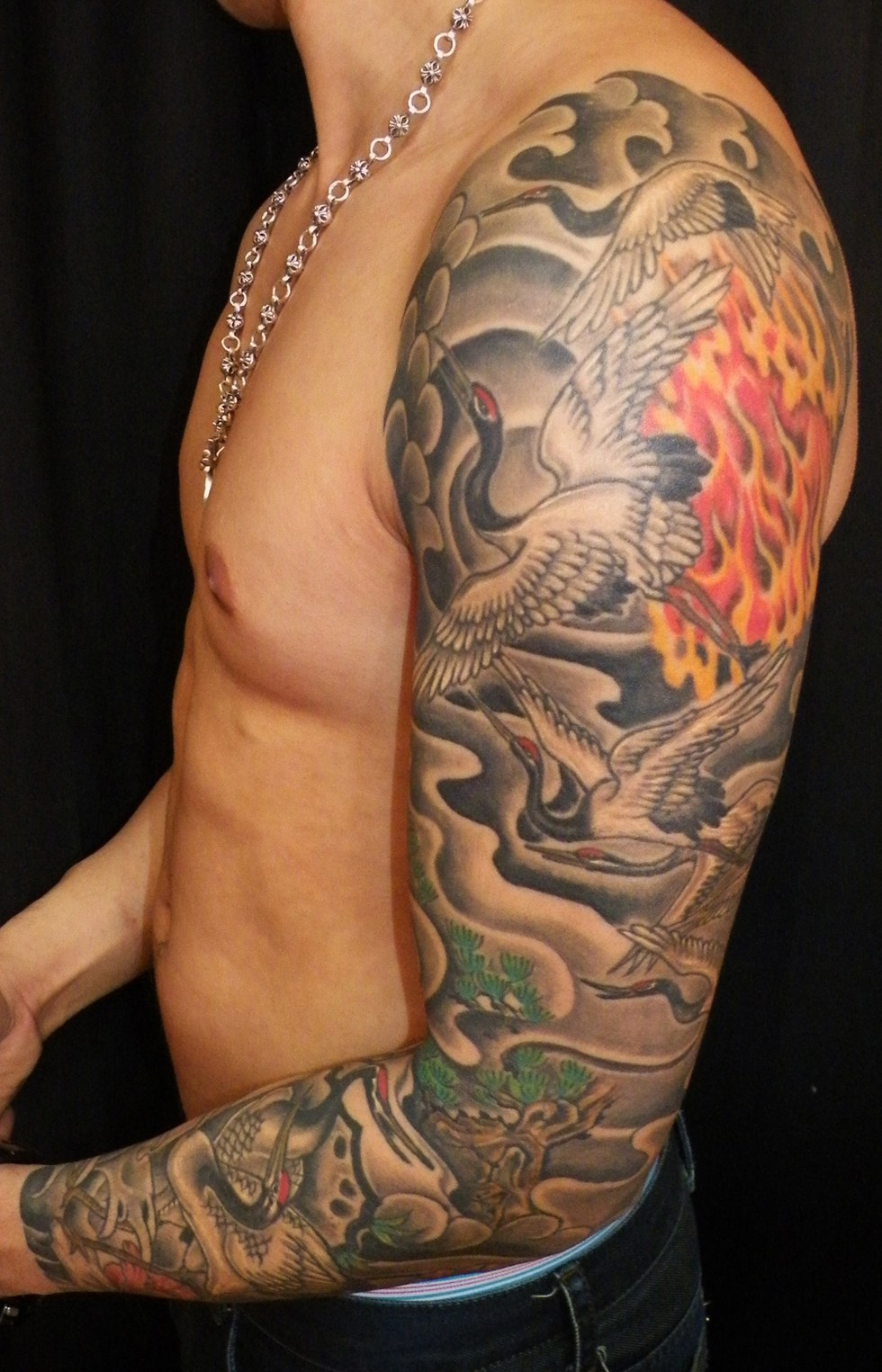Having a tattoo doesn 39 t make you a bad person for Black people tattoo sleeves