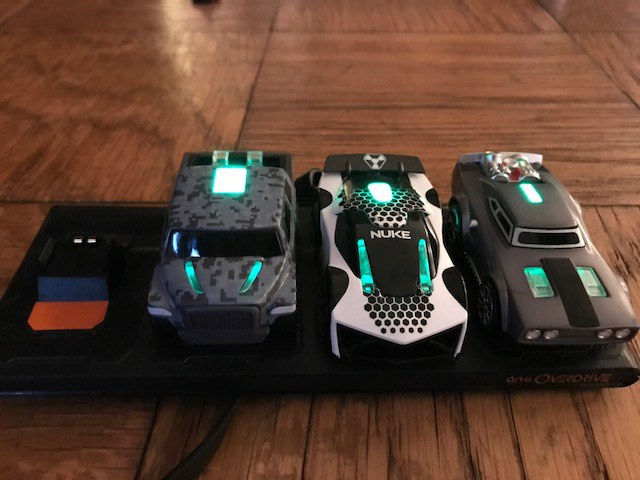 Two cars, Dom's Charger and Hobbs' MXT, come with the Anki Overdrive Fast and Furious edition \u2014 Nuke is extra.