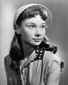 Image result for audrey hepburn 10 years old